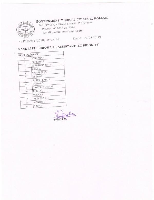 GMC Kollam • News • Medical College Hospital, Kollam